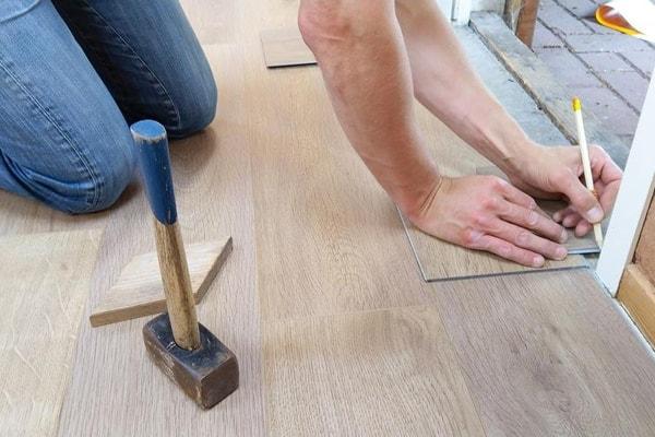 carpenter floor installation